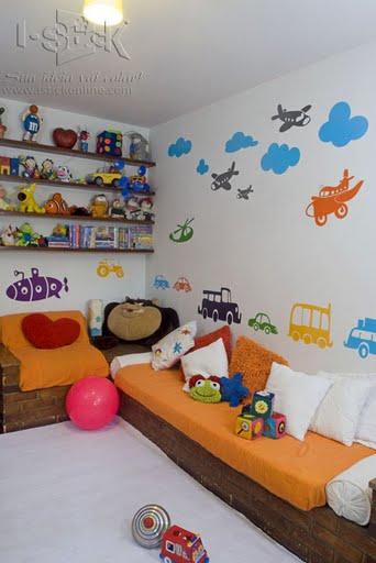 Compartiendo con mis amigas decoraci n de pared para Decoracion cuarto nino