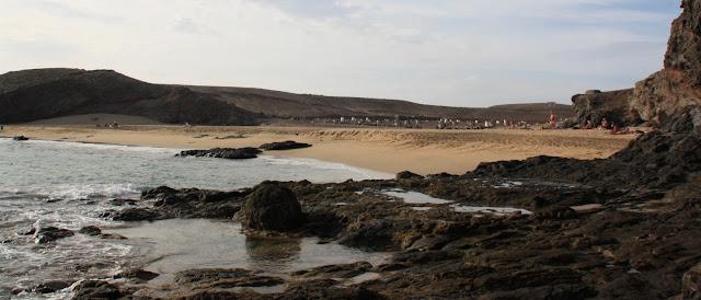 Playa nudista Puerto Muelas (Lanzarote)