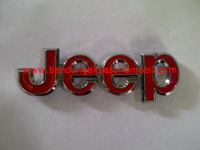 Emblem Logo Grill Jeep