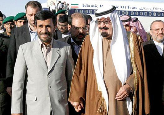 Former Iranian President and Saudis