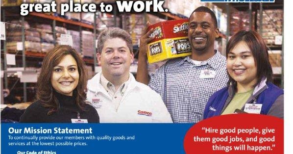 Perfect RGV Life For Costco Jobs