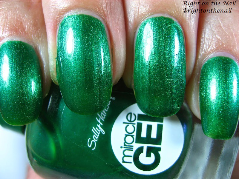 Right On The Nail Sally Hansen Miracle Gel Polish Review