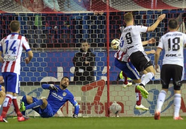 Atletico Madrid Imbang 1-1 Lawan Valencia