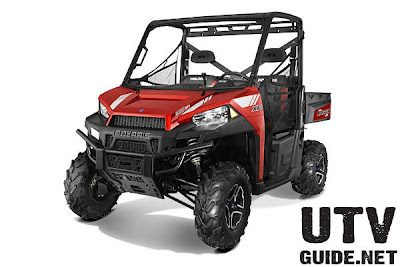 2013 Polaris RANGER XP 900 Sunset Red LE