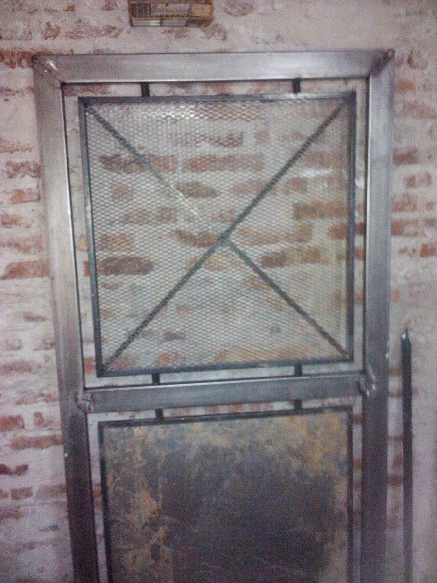 Metalquil puertas en malla - Mallas de hierro ...