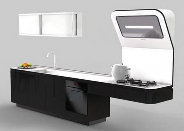 Diseño de Cocina Contemporánea y Futurista | Cómo Diseñar Cocinas ...