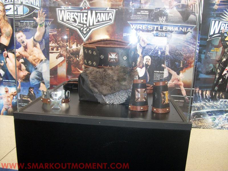 WrestleMania Axxess Triple H Outfit