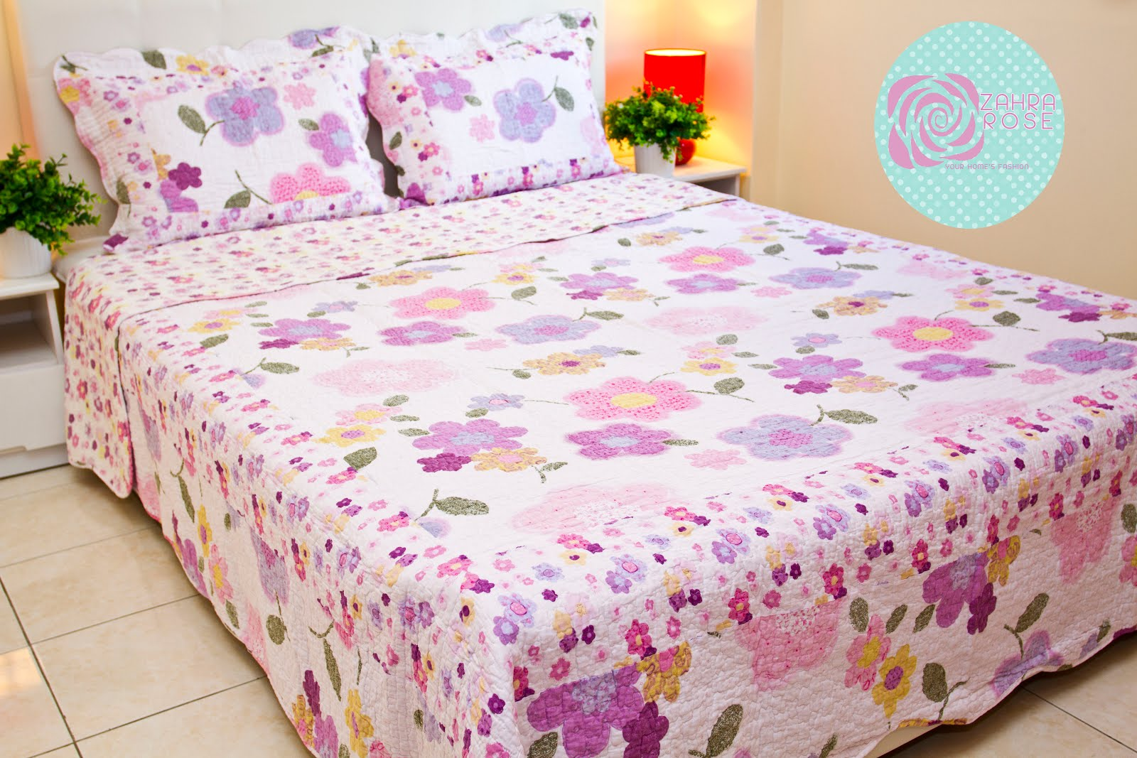 Bed sheets designs patchwork - Zr 005
