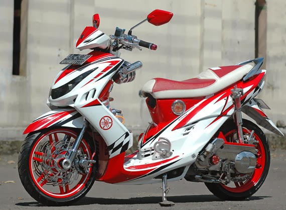 15 Foto Modifikasi Motor Mio