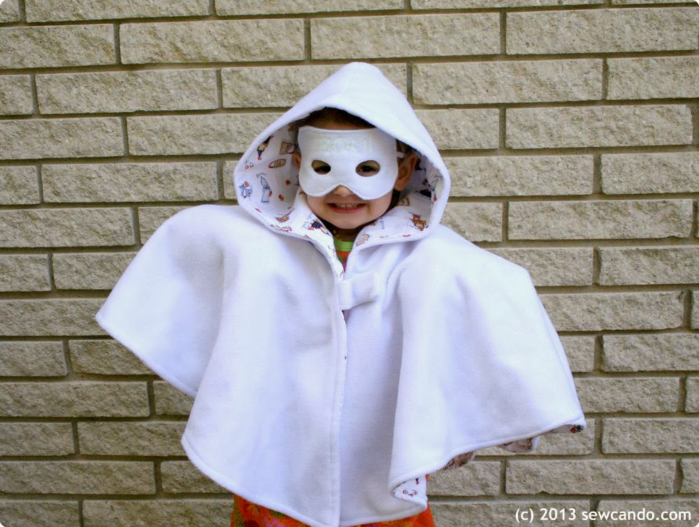 Sew can do easy diy costumes old time bank robber boo tiful ghost solutioingenieria Images