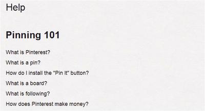 pinning 101