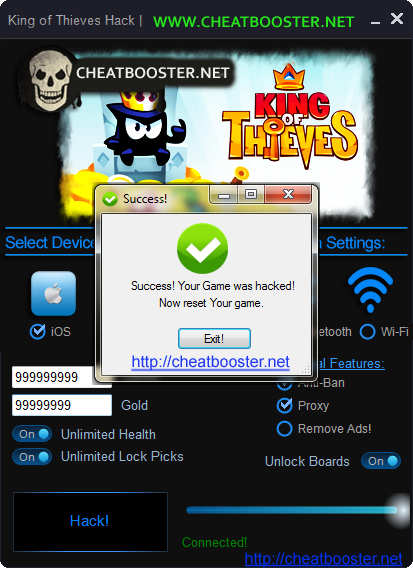 King of Thieves Hack Cheats