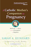 Sarah Reinhard, Catholic Mother, Pregnancy, Book