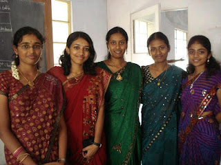 College farewell day pictures from Chennai.