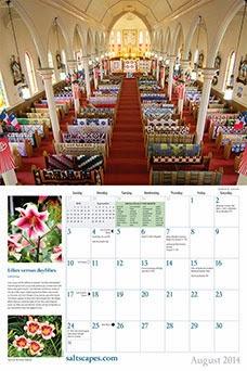 Saltscapes 2014 calendar