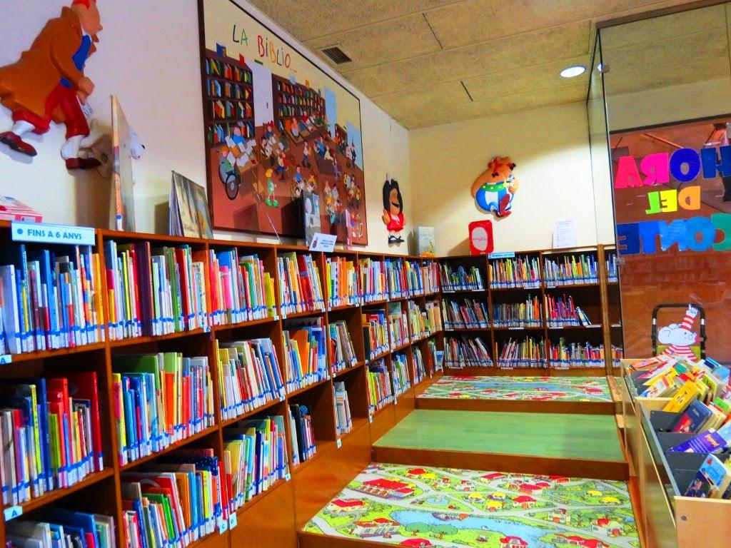 Biblioteca joan oliva i mil vilanova i la geltr - Libreria de pared ...