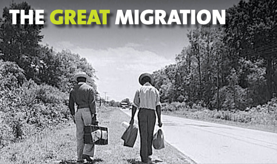 the great migration Books shelved as great-migration: this is the rope: a story from the great migration by jacqueline woodson, the warmth of other suns: the epic story of a.