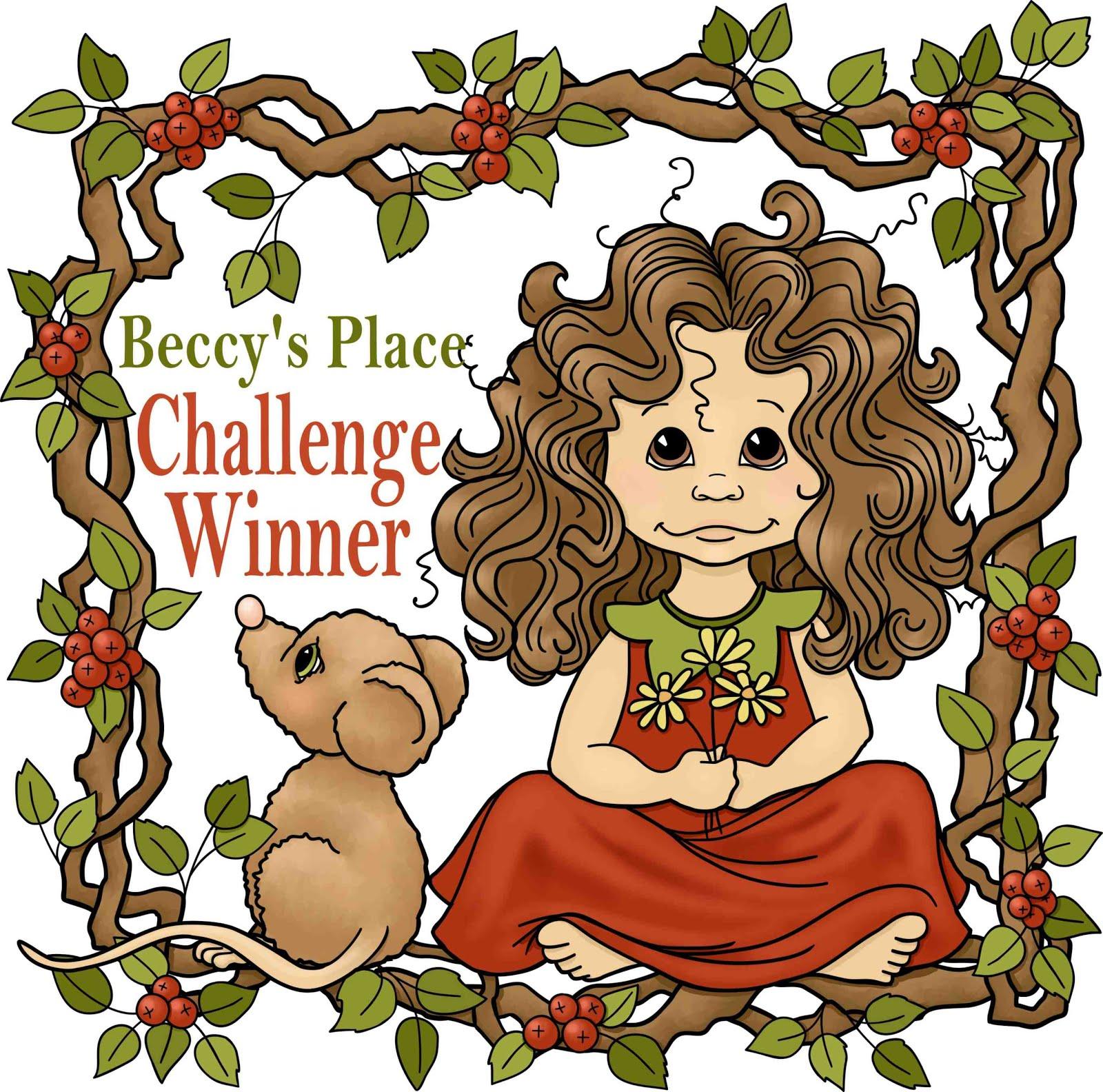 October challenge winner