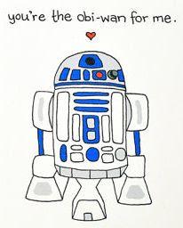 Ты для меня Оби-Ван star wars valentine