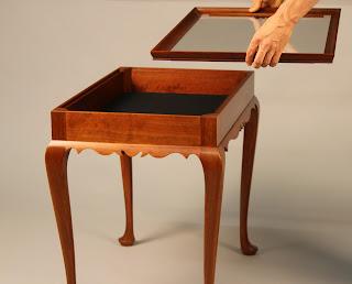 Tea Table Display Case