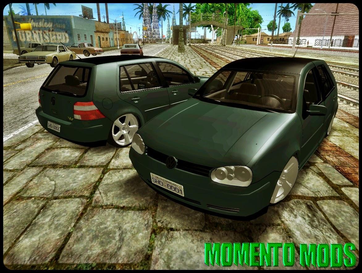 GTA SA - Vw Golf MKIV GTI VR6 + Roda 20 + Som