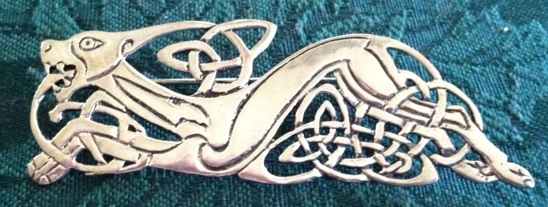 Celtic Knot Dog