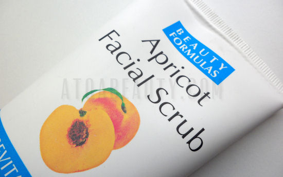 Beauty Formulas, Apricot Facial Scrub