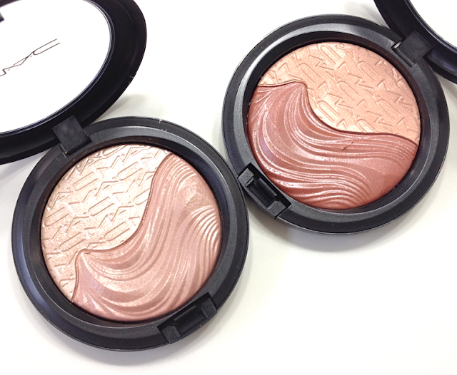 MAC Extra Dimension Skinfinishes - Definitely Defined and Shape the Future