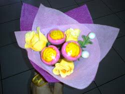Jambangan Bunga (3pcs)