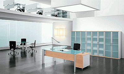 Decoraci n de oficinas modernas minimalistas for Oficinas minimalistas