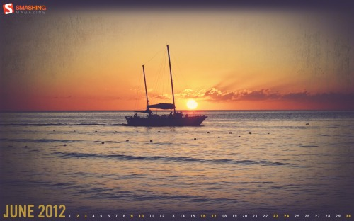 June Sunset Desktop