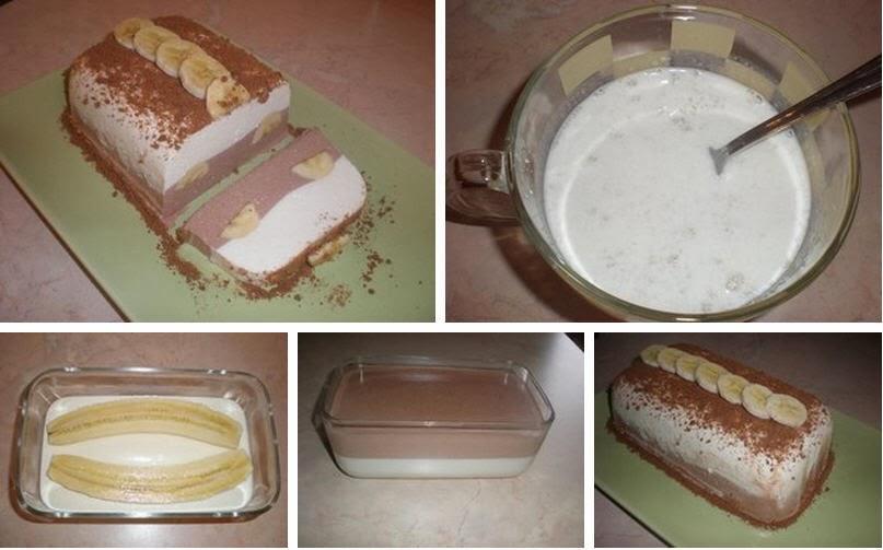 Рецепты десертов с бананом