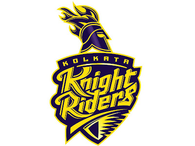 Indian Premier league Team Kolkata Knight Riders Logo