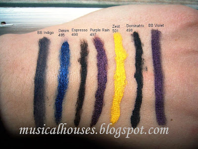Sleek Ink Pot Swatches