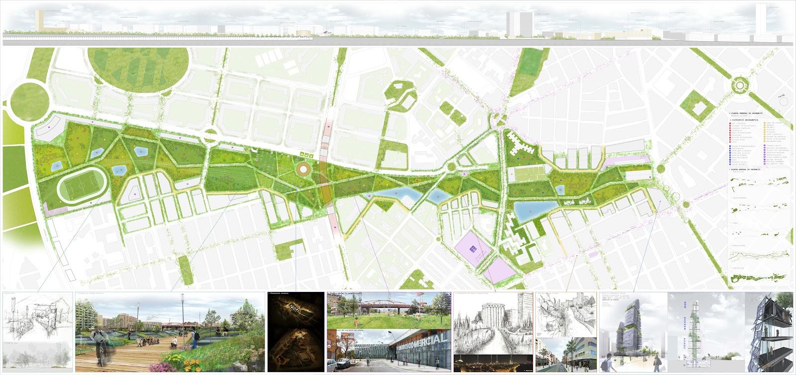 Bandada studio ordenaci n urbana y parque central de - Alicante urbanismo ...