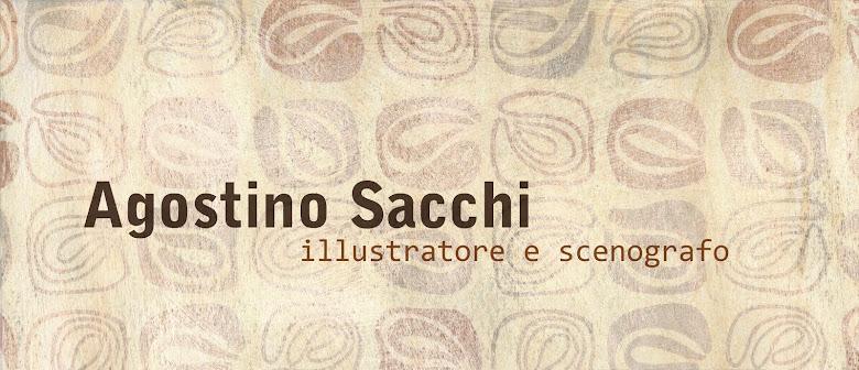 Agostino Sacchi illustratore e scenografo