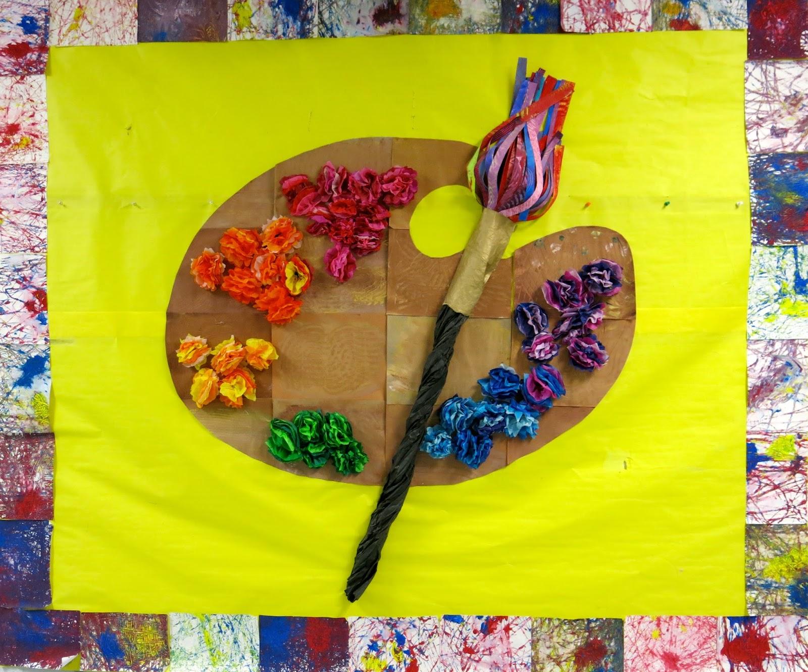 Elementary Art Room Bulletin Board Ideas