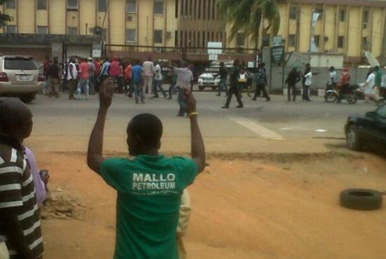 futa student okada police ikorodu