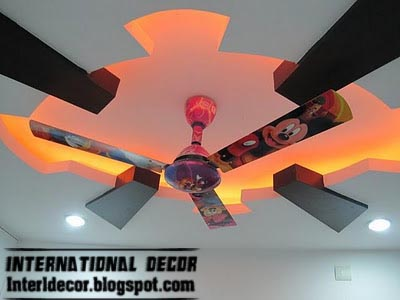 Top catalog of modern false ceiling designs for kids room interior ...