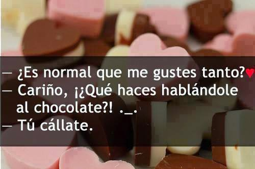 actitud chocolate