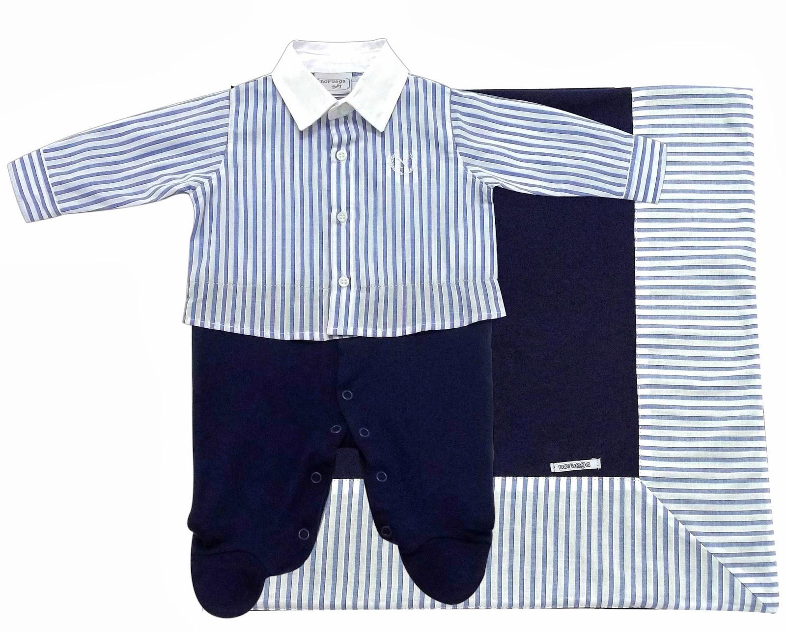 Roupas de bebê da marca Noruega para meninos. Saída de maternidade de qualidade.