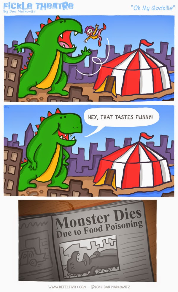 Oh my Godzilla