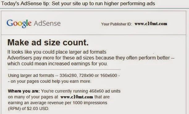 Kích thước ADS Google Adsense nào mang doanh thu cao ?