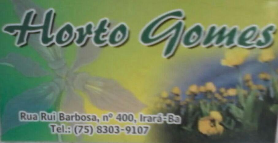 Horto Gomes em irara- rua Rui Barbosa .no400