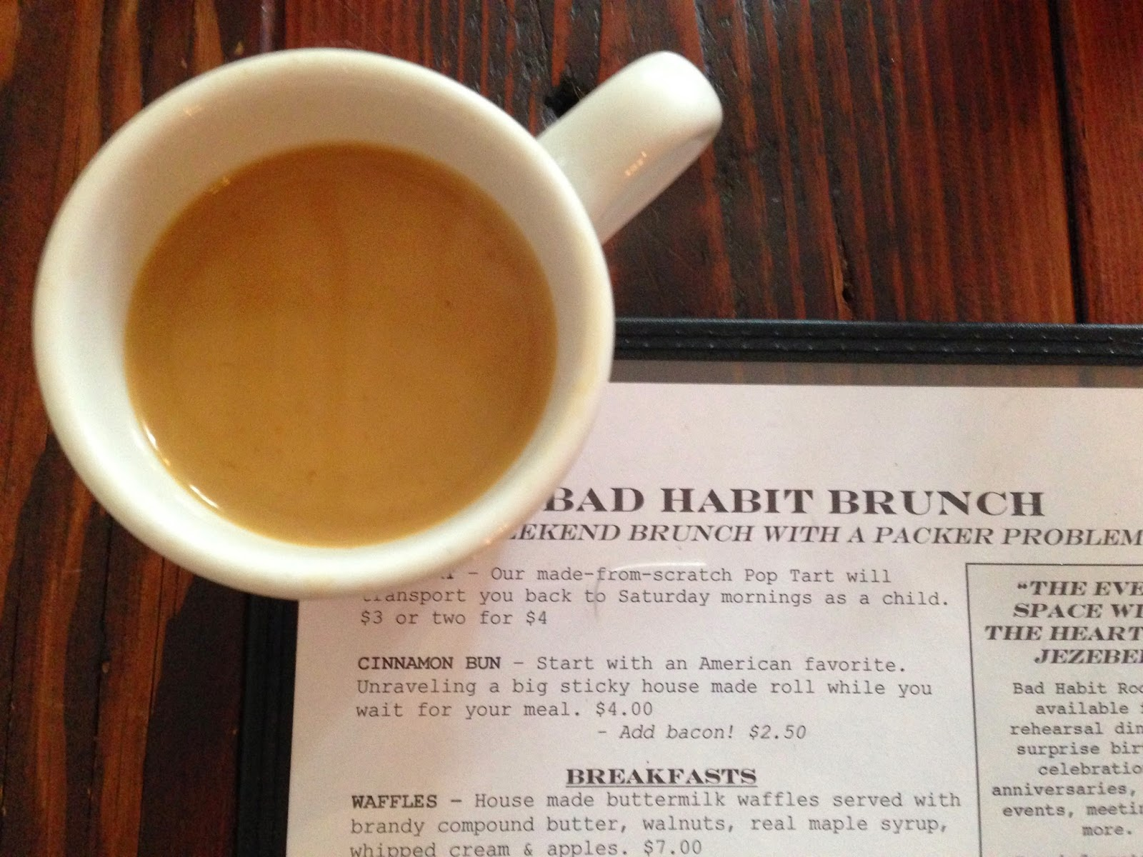Bad Habit Room in Portland, OR | The Economical Eater