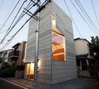 Casa en Tokio de Unemori Architects