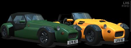 LFS ORIGINAL LX CARS