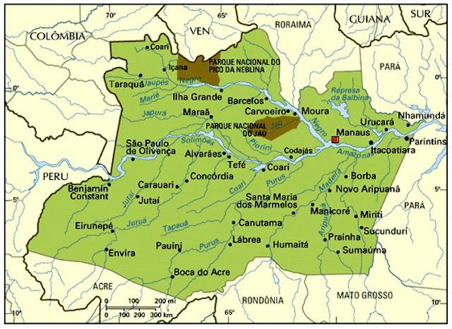 Resultado de imagem para mapa escola  da amazoni