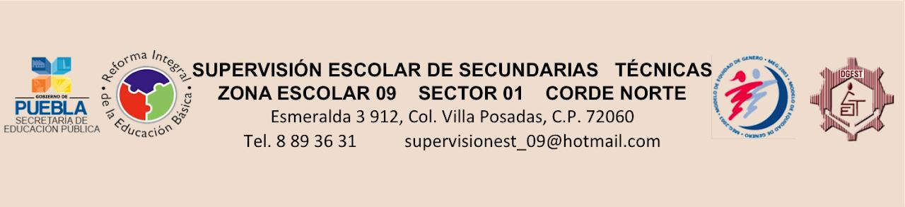 Supervisor y Jefes de Enseñanza. Zona Escolar 09 de Esc. Secundarias Técnicas