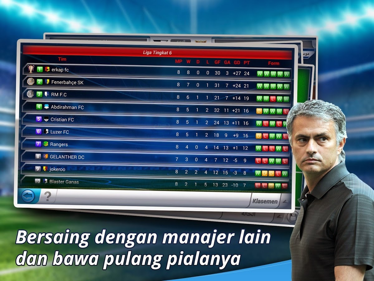 Download Games Android Top Eleven Manager Football Terbaru Asik - 5